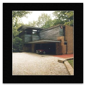 Frank Lloyd Wright - Lloyd Lewis House Libertyville Illinois 1939 Mini Poster - 40x40cm