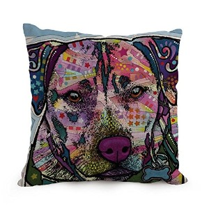 Dog Abstract Art Pillowcase ,best For Floor,home Theater,lover,bar,couples,bar Seat 12 X 20 Inches ...