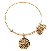 Disney Parks Alex and Ani Mickey Mouse and Pluto Gold Bracelet by Disney [並行輸入品]