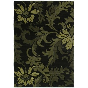United Weavers of America Contours Collection Orleans Heavyweight Heatset Olefin Rug, 2-Feet 7-Inch...