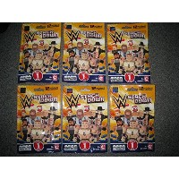 NIP C3 CONSTRUCTION WWE STACK DOWN UNIVERSE BUILDABLE FIGURES FIGURE 6 PACKS _#GER4T134D G54EG...