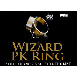 MMS Wizard PK Ring Original (Flat, Gold, 18mm) by World Magic Shop - Trick [並行輸入品]