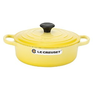 Le Creuset ルクルーゼ TEGAME RISOTTO リゾットパン 24cm Yellow イエロー 25179244032422 両手鍋 [並行輸入品]