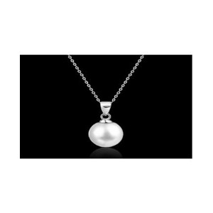Long Pearl Pendant Necklace For Women
