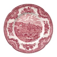Johnson Brothers Old Britain Castles Pink Bread & Butter Plate, 6.25, Pink