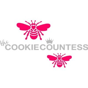 The Cookie Countess(クッキーカウンテス)ステンシル/ハチ