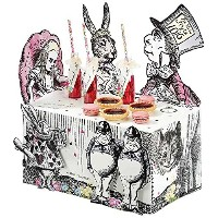 Talking Tables Truly Alice Alice in Wonderland Mad Hatter Party Buffet Centerpiece for a Tea Party...