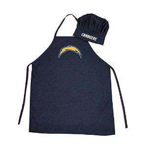 NFL San Diego Chargers Chef Hat and Apron Set