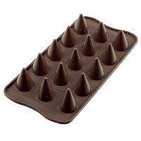 Silikomart Silicone Easy Chocolate Mold, Cones