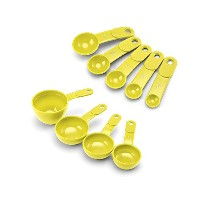 KitchenAid 9-Piece Measuring Cup & Spoon Set, Meyer Lemon