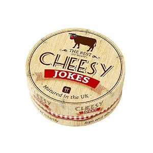 Talking Tables Games and Trivia Cheesy Party Jokes Gift Set, Multicolor