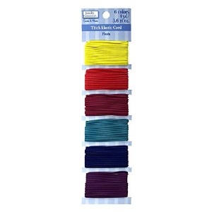 Sulyn Thick Elastic Cord Variety Pack, Fiesta