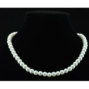 Women Jewellery Colliers Big Chain Pearl Necklace