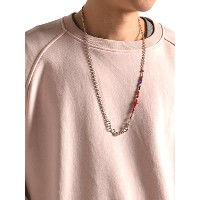 (シップスジェットブルー) SHIPS JET BLUE JB:STONE CHAIN NECKLACE 129200005 Red2
