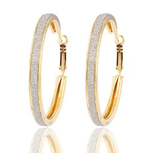 Large Round Loop Earring for Women