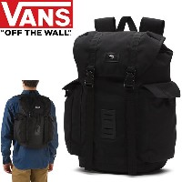 VANS バンズ リュック OFF THE WALL BACKPACK ブラック 30L バンズ バッグ バックパック【s1】