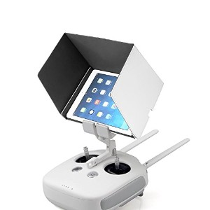 Neewer 9.8インチ モニターサンシェードフード DJI Inspire 1と Phantom 3 Advanced / Professional、iPad Air 2、iPad Mini 4...