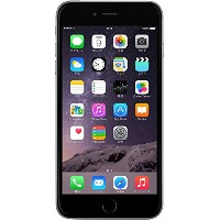 Apple SoftBank iPhone6 Plus A1524 (MGAH2J/A) 64GB スペースグレイ