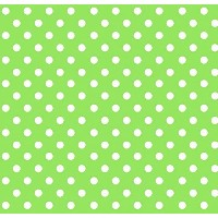 SheetWorld Fitted Pack N Play (Graco Square Playard) Sheet - Primary Polka Dots Green Woven - Made...