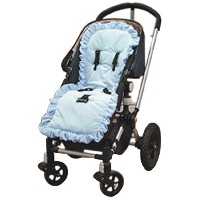 Baby Doll Bedding Heavenly Soft Minky Stroller Covers, Blue by BabyDoll Bedding
