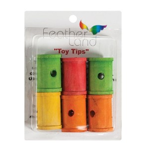 Paradise 1-1/4-Inch by 2-Inch Wood Spools Bird Toy by Paradise