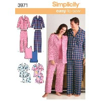 SIMPLICITY PLUS SIZE WOMEN AND MENS PAJA-XL XXL XXXL (並行輸入品)