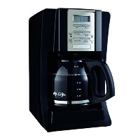 Mr. Coffee SJX23 12-Cup Programmable Coffeemaker, Black by Mr. Coffee