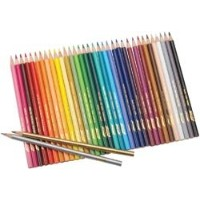 Bulk Buy : Prang Prang Thick Core Colored Pencil Set 36 / Pkg ( 2 - Pack )