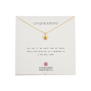 ドギャード Dogeared レディース アクセサリー ネックレス【Best Friend Ever, Crossing Arrow Necklace】Gold Dipped