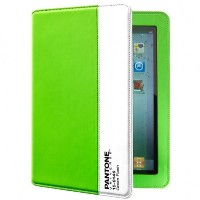 Case Scenario PANTONE UNIVERSE Nubuk Standing Book Case for iPad Neon Green