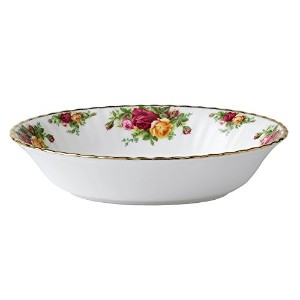 Royal Albert Old Country Roses Open Vegetable Dish by Royal Albert