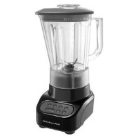 KitchenAid KSB465OB 4-Speed Countertop Blender with 48-Ounce Polycarbonate Jar, Onyx Black by...