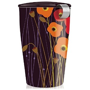 Tea Forte KATI Cup Loose Leaf Tea Brewing System, Poppy Fields by Tea Forte