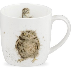Wrendale What A Hoot Design Mug by Portmeirion