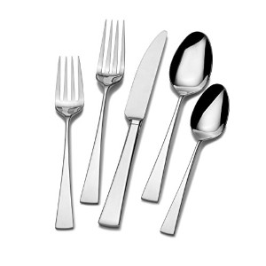Mikasa Lucia 20-Piece Stainless Steel Flatware Set, Service for 4 by Mikasa