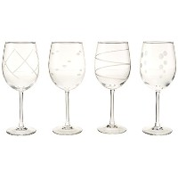 Luminarc Soho Assorted Tulips (Set of 4), 19 oz, Clear by Luminarc