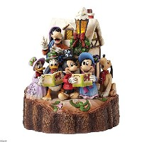 ENESCO(エネスコ) ディズニー Caroling Carved by Heart Holiday Harmony 4046025 [並行輸入品]