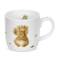 Wrendale by Royal Worcester Treetops Redhead Squirrel Single Mug by Wrendale by Royal Worcester