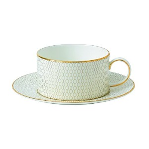 Wedgwood Arris Teacup and Saucer Set by Wedgwood