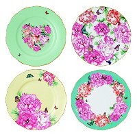 Royal Albert Miranda Kerr Accent Plate, 8, Set of 4 by Royal Albert