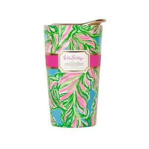 Lilly Pulitzer Ceramic Travel Mug - Bungalows by Lilly Pulitzer