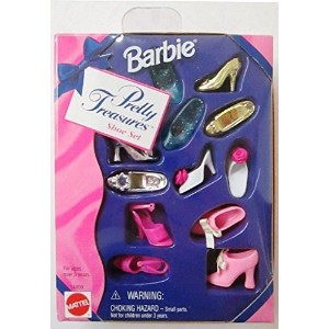Barbie Pretty Treasures Shoe Set (1996)