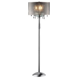 OK-5128f 61-Inch Petal Crystal Floor Lamp by OK Lighting