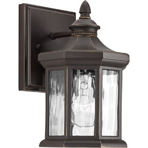 Progress Lighting P6070-20 Traditional/Classic 1-100W Med Wall Lantern, Antique Bronze by Progress...