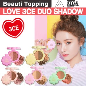 [3CE] LOVE 3CE DUO SHADOW (5 Colors) [Beauti Topping]