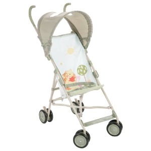 Disney Baby Umbrella Stroller with Canopy Featuring Pooh Characters, Ambrosia (Discontinued by...