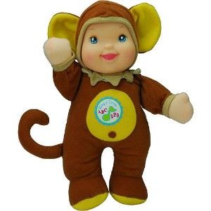 1 X Sing & Learn ABCs & 123s 11 inch Doll - Monkey Outfit by Golderger by Goldberger Doll Mfg.