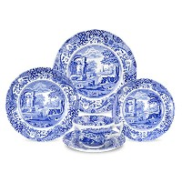 Spode Blue Italian 5-Piece Place Setting by Spode