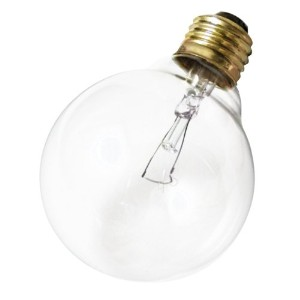 Satco Products S3448 120V 40G25 Medium Base Clear Light Bulb by Satco