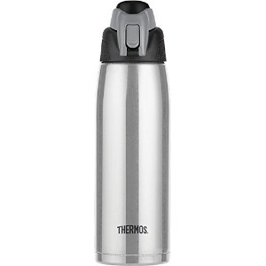 Thermos真空断熱24-ounceステンレススチールHydration Bottle、 24-Ounce HS4080SSTRI4
